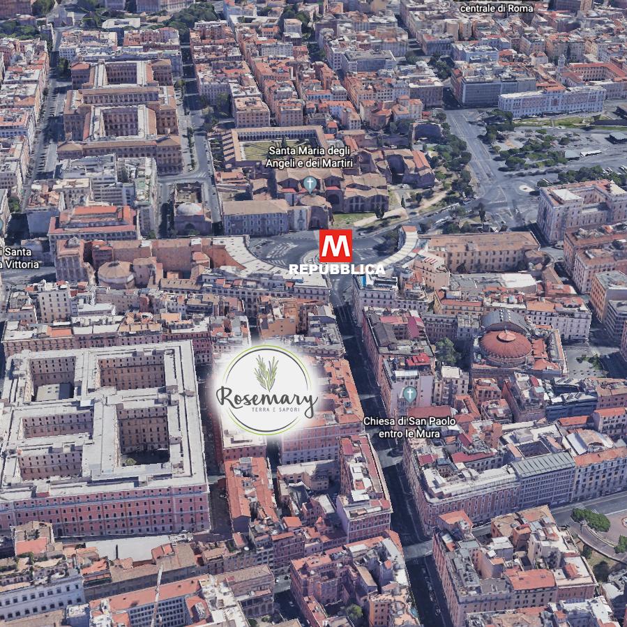 Mappa rosemary Via Modena